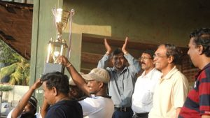Winning Trophy - Batticaloa Team
