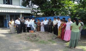 Planting Trees - Gampaha Office - 2013
